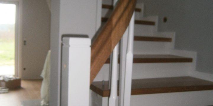 Holzverkleidung für Betontreppen 2